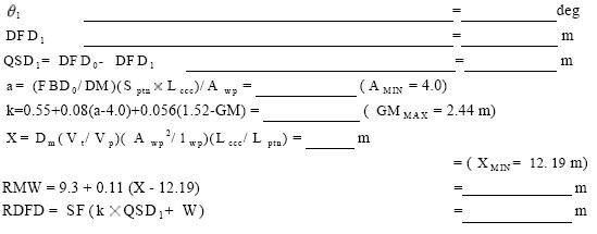 650(16) An example of alternative intact stability criteria